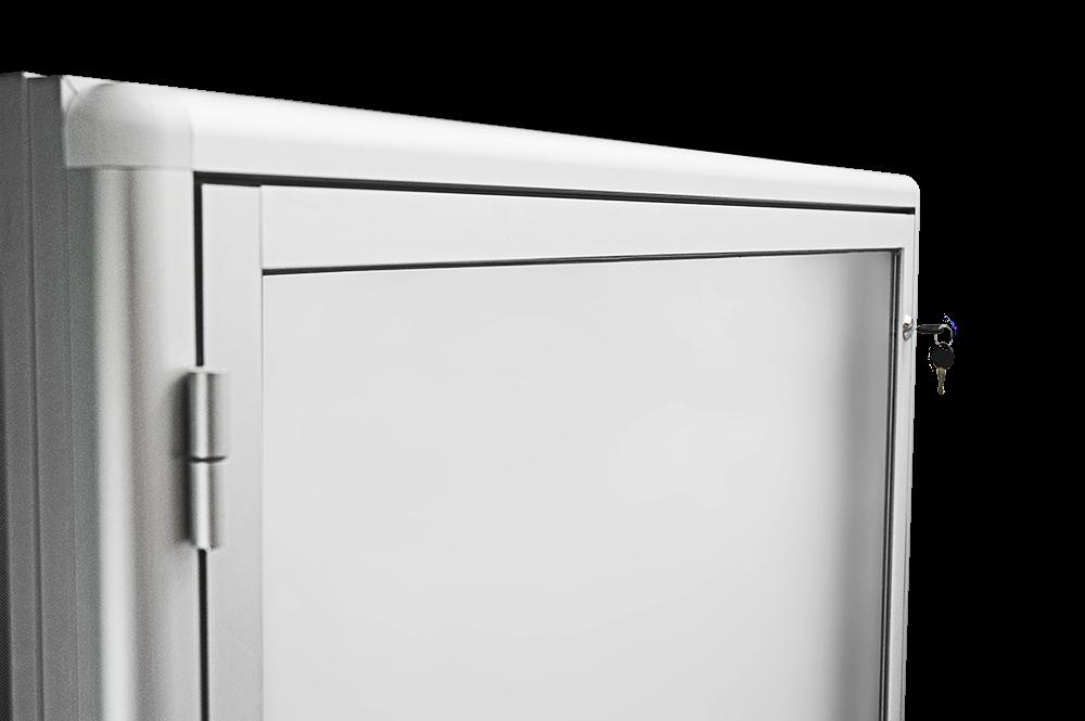 potykacz reklamowy aluminiowy jednostronny